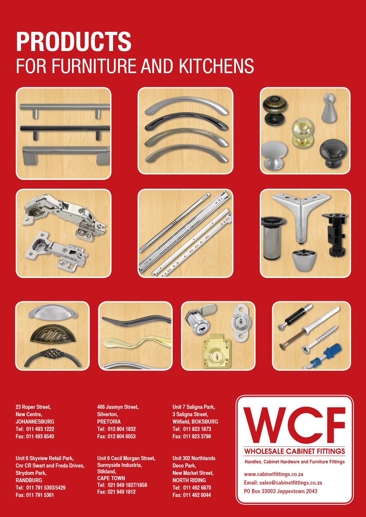 Wholesale Cabinet Fittings